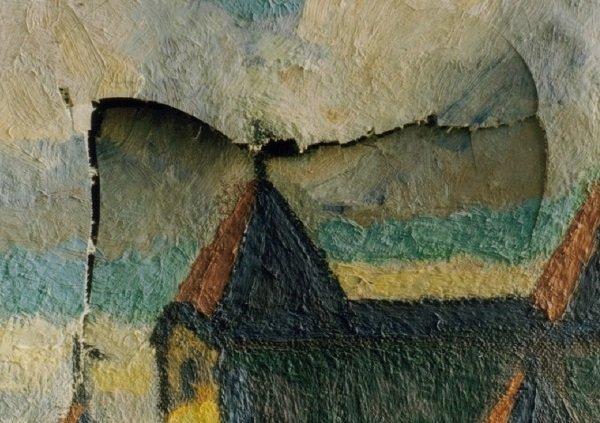 painting damaged