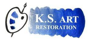 K.S. Art Restoration logo